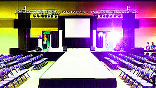 stage fashion runway rental