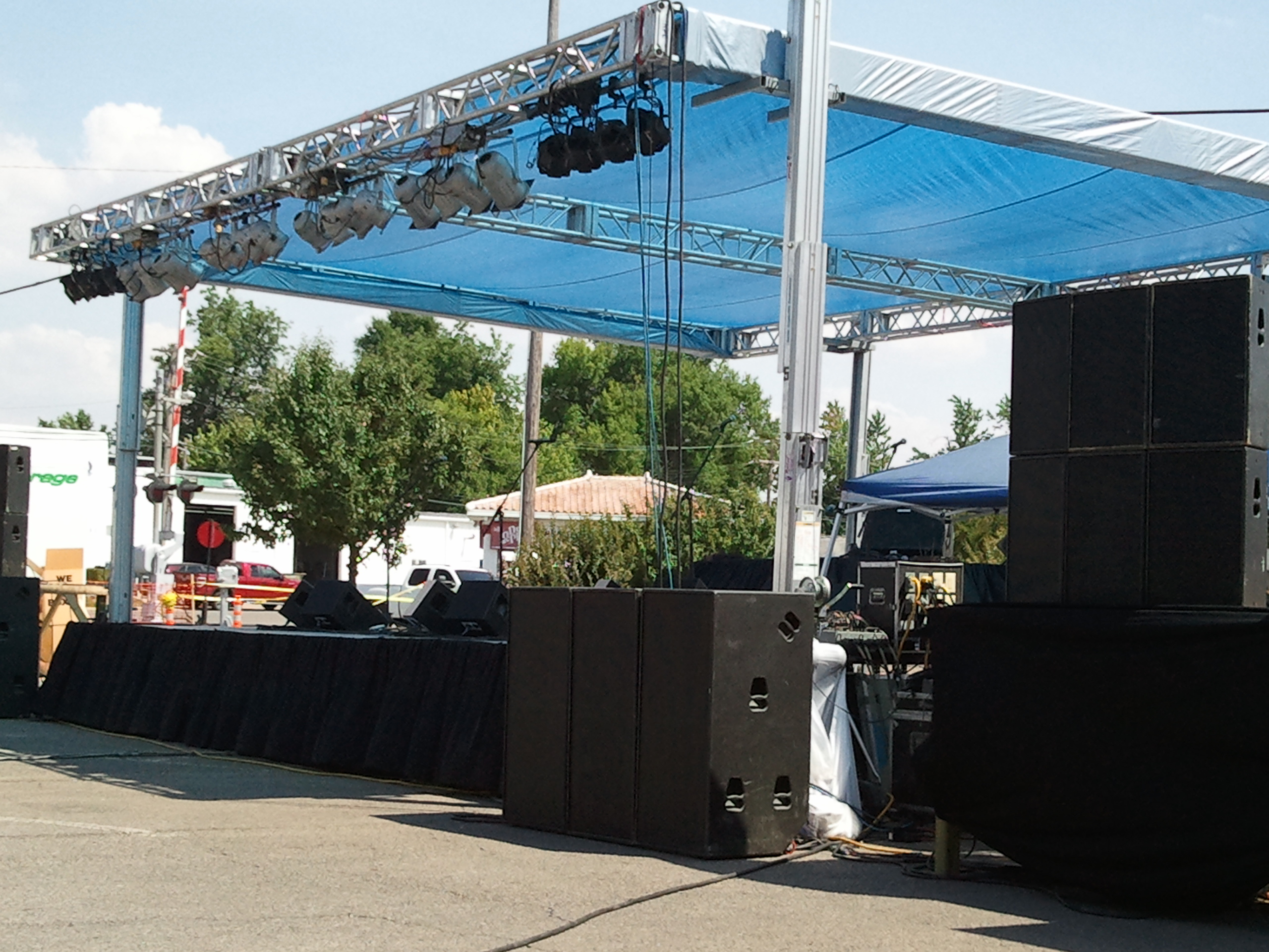 festival stage rental in Paragould, AR