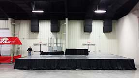 stage rental services Jonesboro