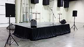 stage rental in memphis
