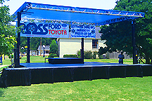 Wynne, AR event stage rental